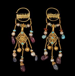 Byzantine Gold Earrings