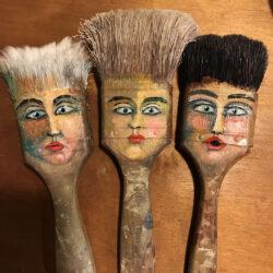 Painted Paintbrushes